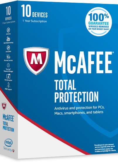 Mcafee Total Protection product image