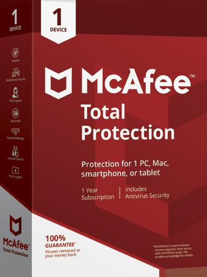 McAfee® AntiVirus Plus