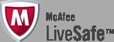 McAfee LiveSafe logo