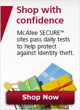 McAfee SECURE™ Shopping