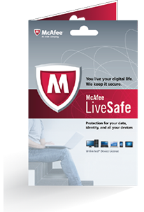 McAfee LiveSafe™ - ADT® Security Edition