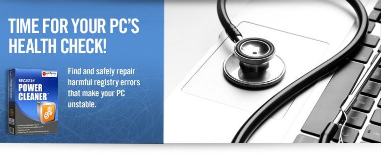 TIME FOR YOUR PC´S HEALTH CHECK!